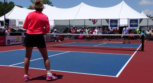 Mixed Doubles at U.S. Open