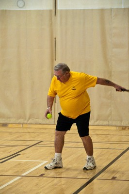 Pickleball serve