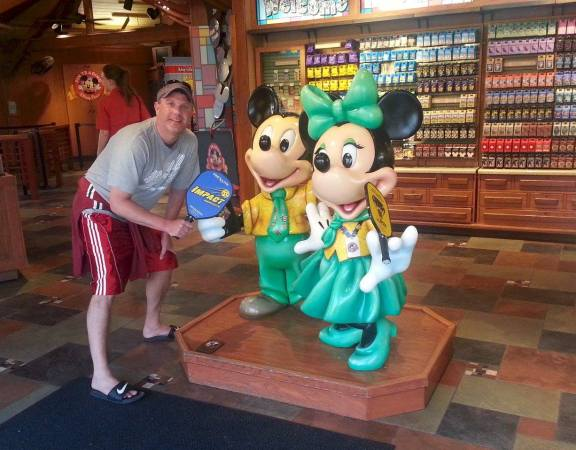 Image courtesy of Pickleballmax, sharing pickleball with Disney power couple