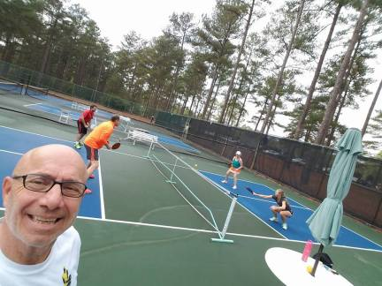 Pickleball in the Triangle photo
