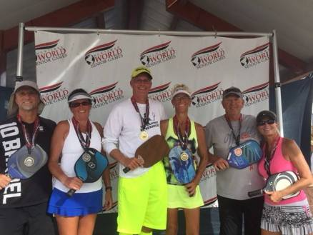 2016 Huntsman Senior Games - Gold: Roxanne Pierce/Scott Lennan Mixed Doubles 55-59, Gold: Jim Hackenberg/Yvonne Hackenberg - Mixed Doubles 65-69, Bronze: Ron Chang/Bonnie Williams - Mixed Doubles 50-54