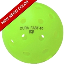 Neon Color Dura Fast 40 Ball