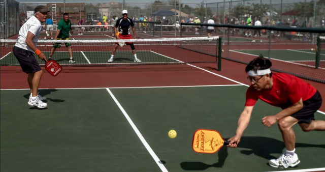 Pickleball reach