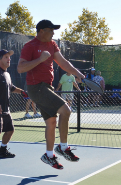 Pickleball jump