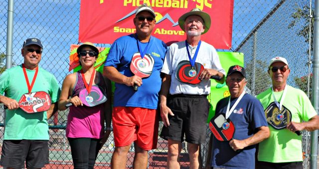 Pickleball winners