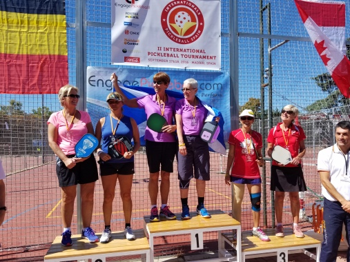 Podium Shot - Spain International Tournament 2016