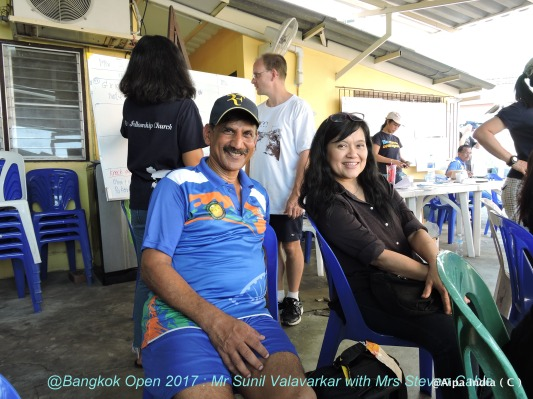Sunil and Nopaluck - Bangkok Open 2017