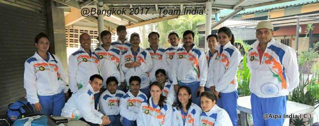Team India - Bangkok Open 2017