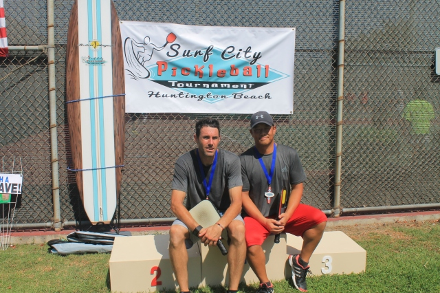 Surf City pickleball medalists