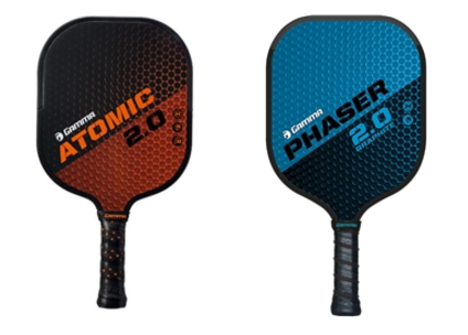 Gamma Atomic and Phaser Pickleball Paddles