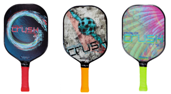Learn More About CRUSH PowerSpin paddles