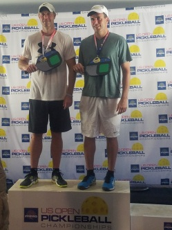 US OPEN Gold - Matthew Schiller and Chris Zeilinga