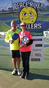 Brian Roderick and Ruth Sennett win second place in Punta Gorda