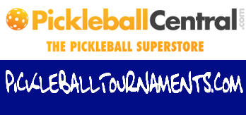PickleballCentral and PickleballTournaments Logo