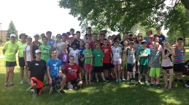2016 Summer Youth Clinic - Youth and Volunteers