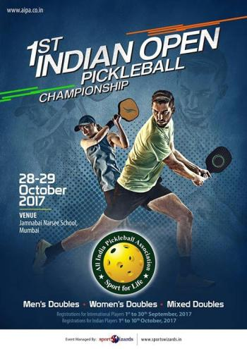 1st Indian Open Pickleball Championships