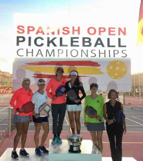 Spanish Open: Hilary Marold,/Suzee Anderson, Silver