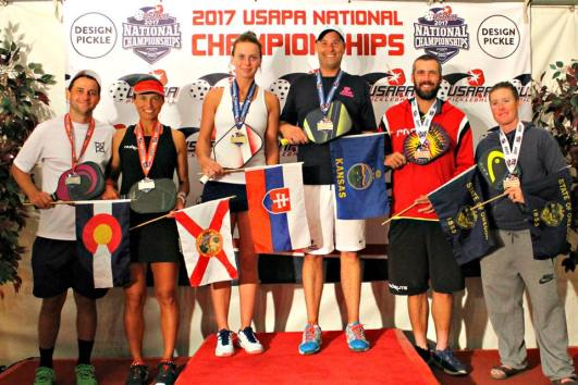 2017 USAPA Nationals Open Mixed Doubles