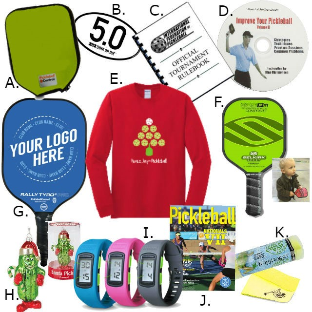 Pickleball Stocking Stuffers