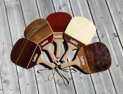 Wood pickleball paddles