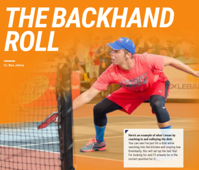 Backhand Roll - Ben Johns