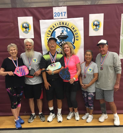 Mixed Doubles Group 70 - Indoor Championships