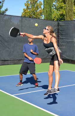 Pickleball overhead