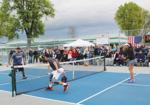 Image from last year's  2017 Triple Crown Professional Pickleball Tournament in Simi Valley
