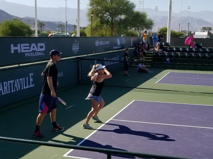 Michelle Esquivel Mixed Doubles