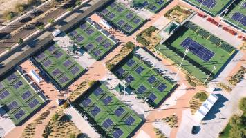 Indian Wells courts