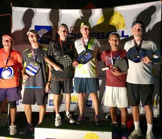 2019 US OPEN 60+ men's doubles: Ted Meyer/Gary Miller - Bronze, Jim Hackenberg/Dan McLaughlin - Gold, Joe Nguyen/Gregg Whitfield - Silver