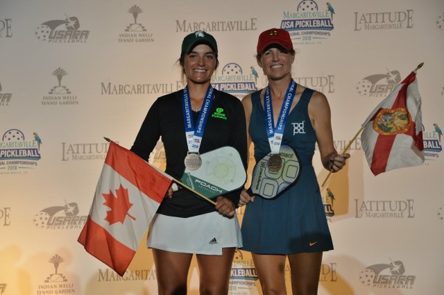 Catherine Parenteau and Leigh Waters, Bronze
