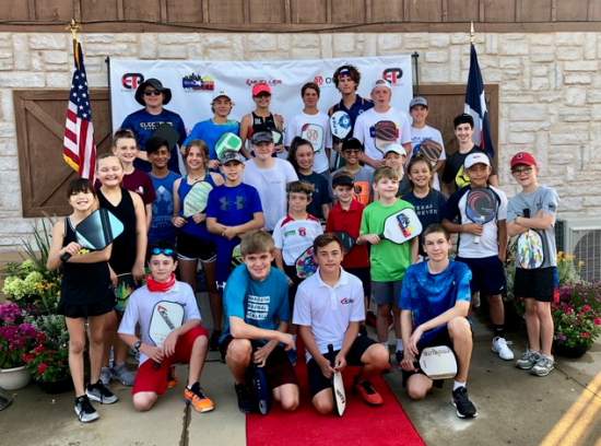 Texas Open juniors with Anna Leigh Waters and William Sobek