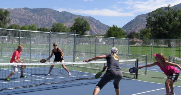 Ogden Pickleball players